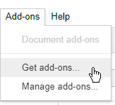 Add-ons | Get add-ons